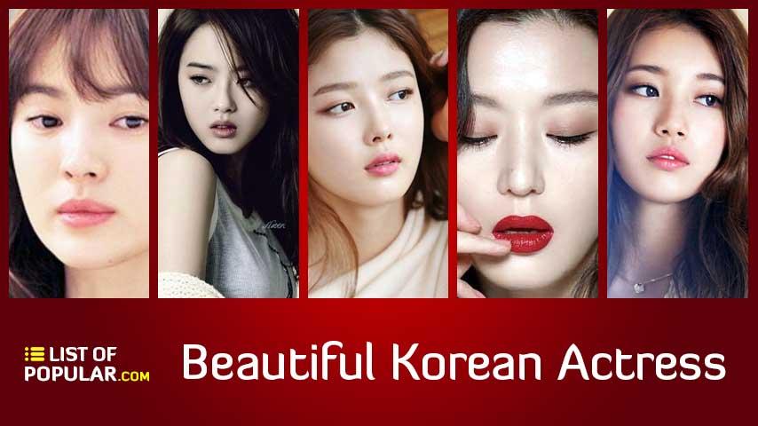 Most Beautiful Korean Actress | List of Cutest Actresses of Korea