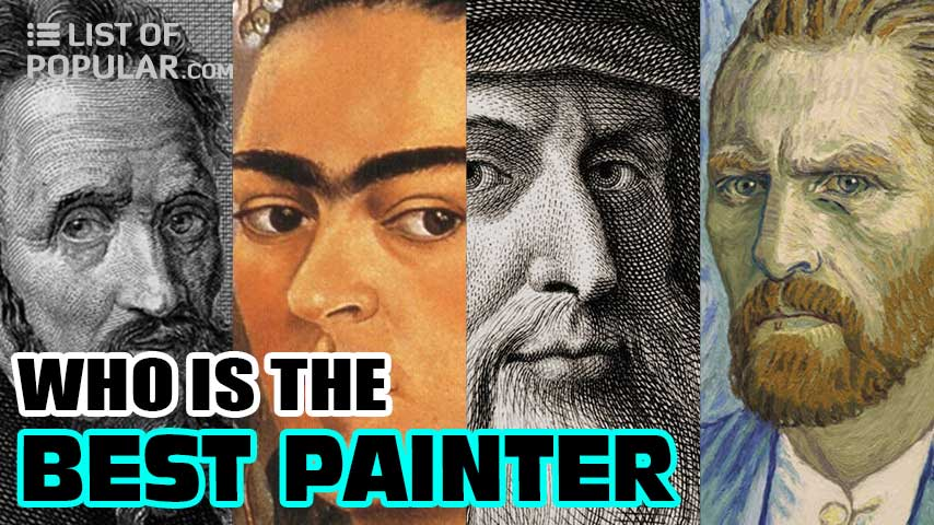 Best Painter of all Time | Top 10 Greatest Painters in the World
