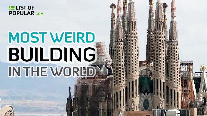 Most Weird Building in the World | Top 10 Bizarre Structure