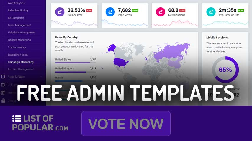 Free Bootstrap Admin Template Open Source   Dashboard Templates