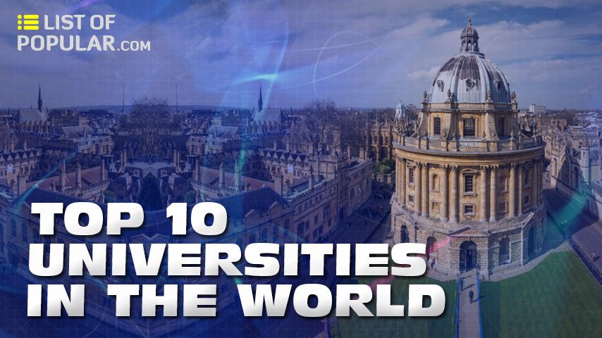 Top 10 Universities in the World | Best University Ranking