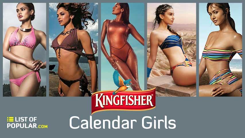 Best Kingfisher Calendar Girls - Most Beautiful Model