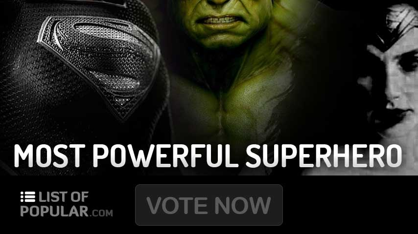 The Most Powerful Superhero Ever   Top 10 Ranking