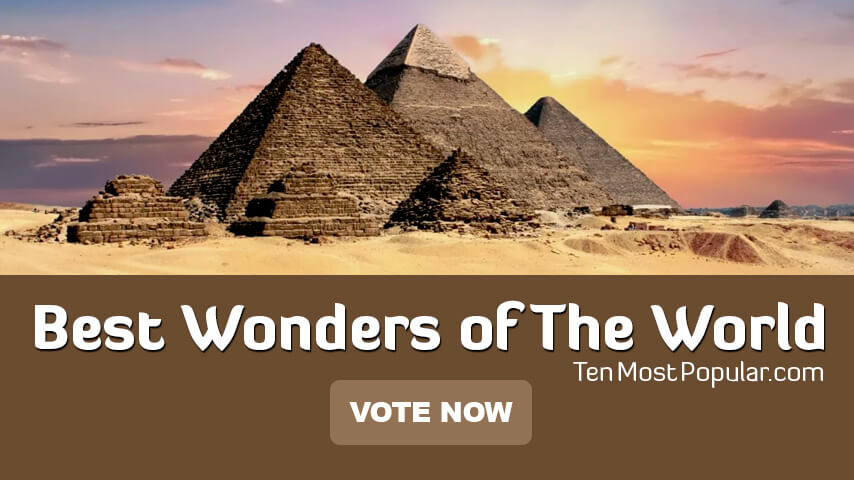 Best 7 Wonders From Ancient to Modern World | All Wonders List