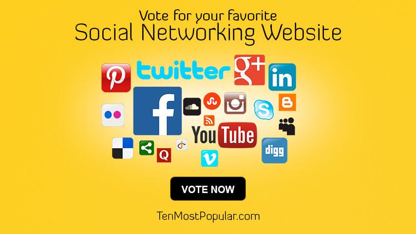 List of Best Social Networking Websites | Ten Most Popular Ranking