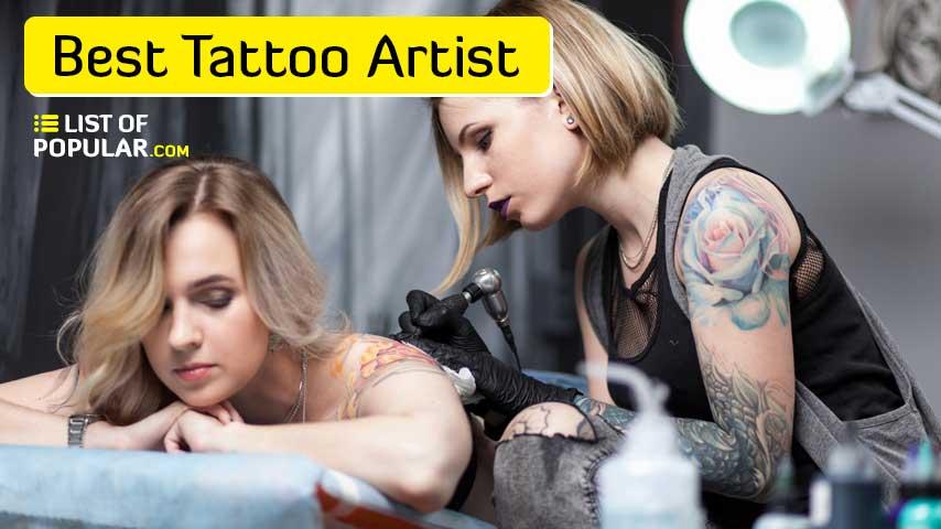 Worlds Best Tattoo Artist   Top 10 List