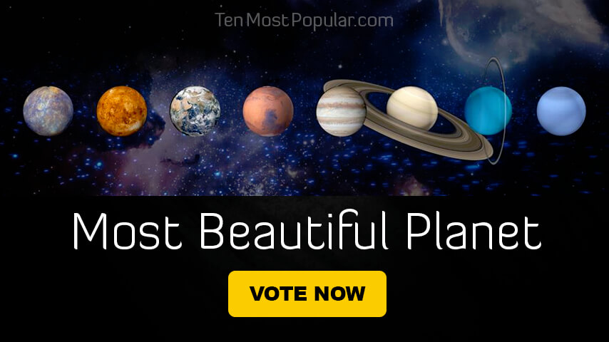 Most Beautiful Planet and Dwarf Planet in Our Solar System