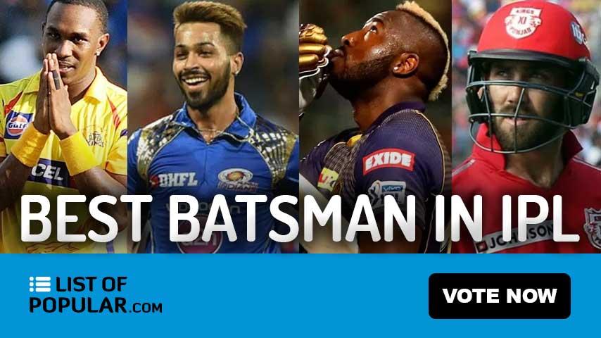 Most Dangerous Batsman in IPL - Top 10 Best Player Ranking
