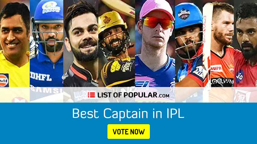 Who is the Best Captain in IPL | List of Popular